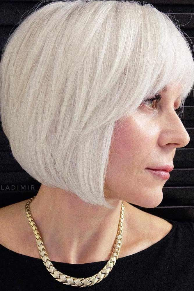 Sexy Short Hairstyles Fascinating 33 Sexy Short Hairstyles For Women Over 50  Platinum Blonde Bobs