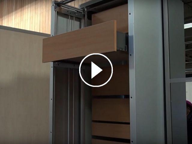 Lepine 2016 Ergomeuble Un Dressing Connecte Aux Rangements Optimises Rangement Maison A Part Et Deco Design