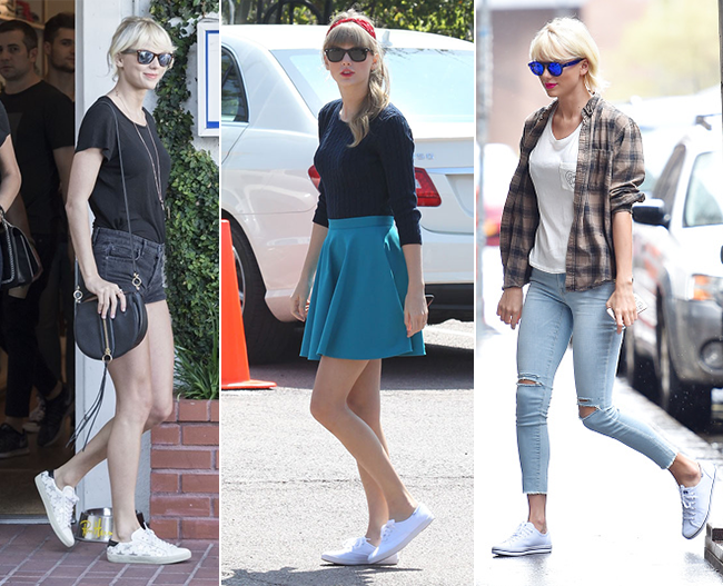 White sneakers, Fashion trends