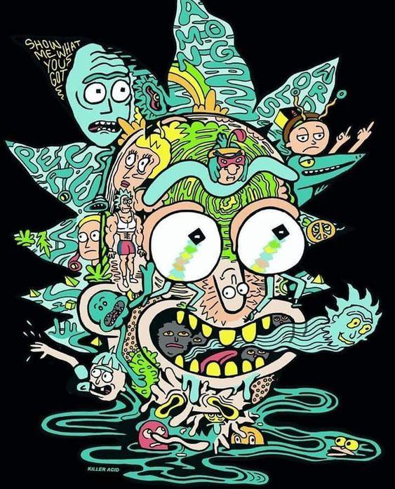 Wallpaper de Rick and morty | Fondo de pantalla animado ...