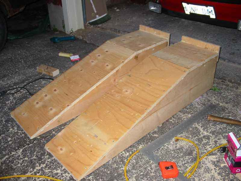Diy car ramps pelican parts technical bbs do it myself for Metal craft trailers parts