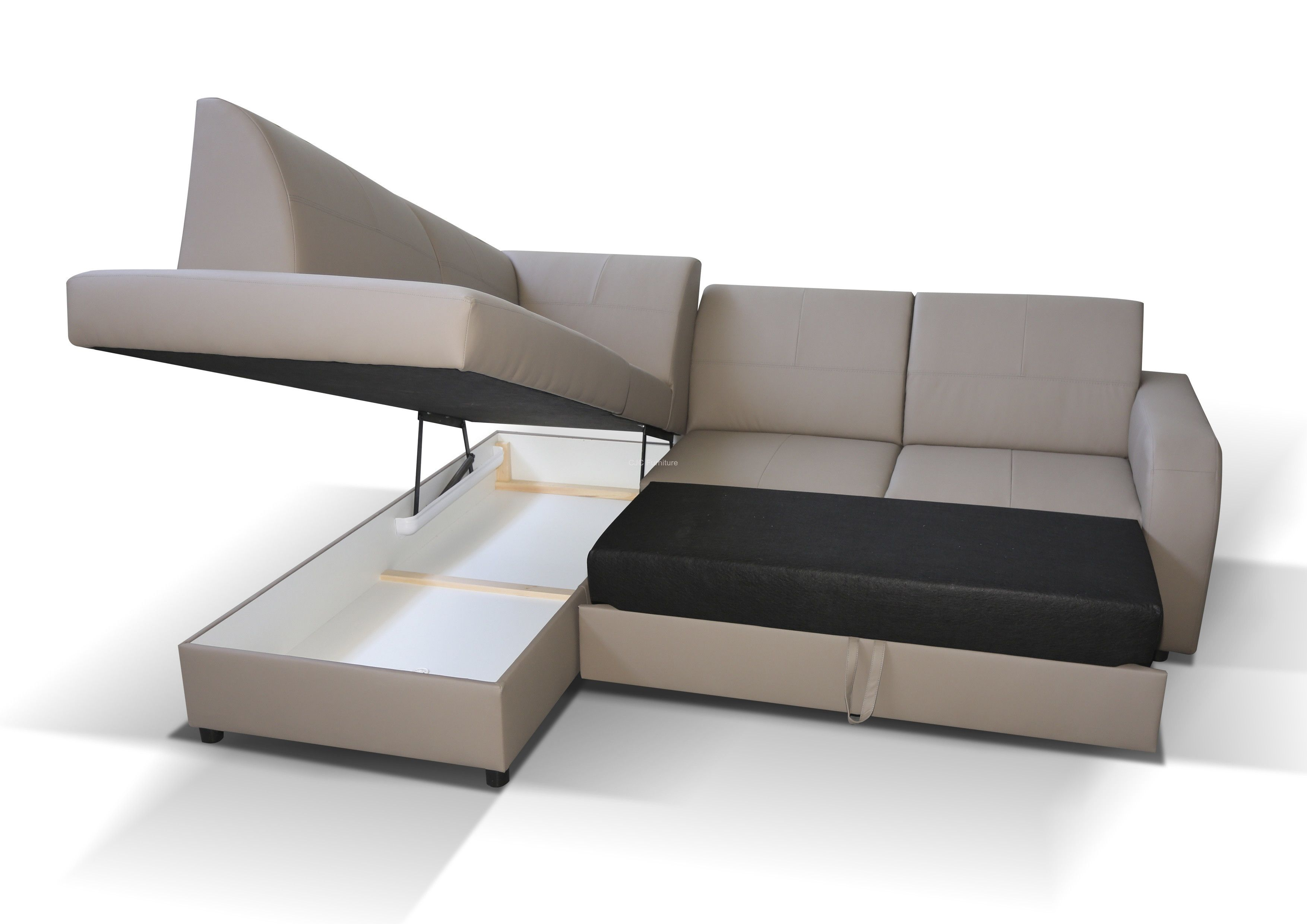 Awe Inspiring Corner Sofa Beds With Storage A Complete Package For Living Theyellowbook Wood Chair Design Ideas Theyellowbookinfo