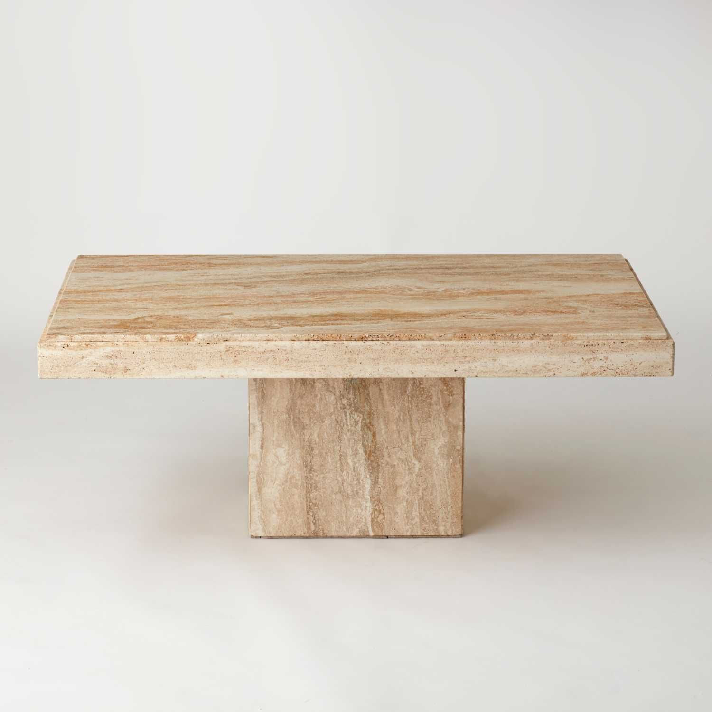 Vintage Travertine Coffee Table Au Bespoke In 2020 Marble Coffee Table Coffee Table Travertine Coffee Table [ 1500 x 1500 Pixel ]