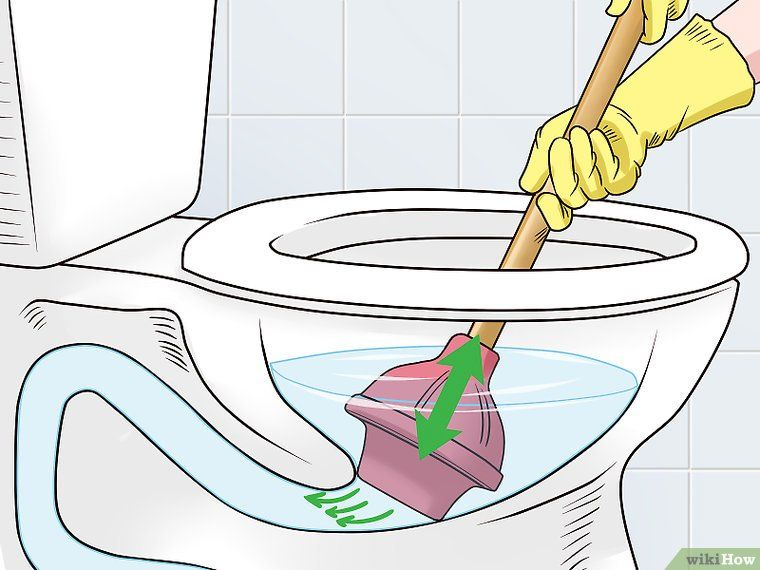 Unclog A Toilet Clogged Toilet Homemade Drain Cleaner Stopped
