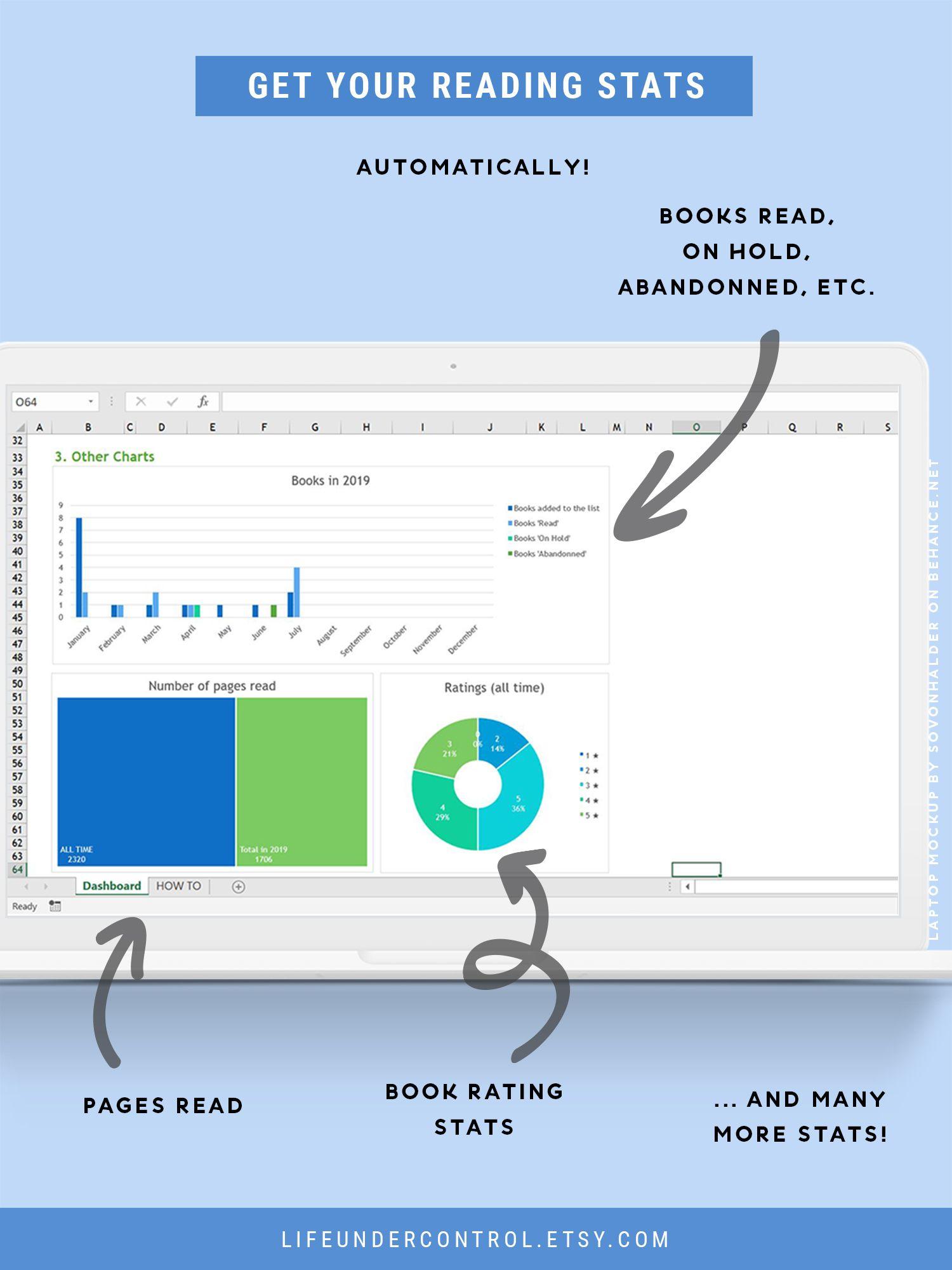 Reading Tracker Spreadsheet For Excel