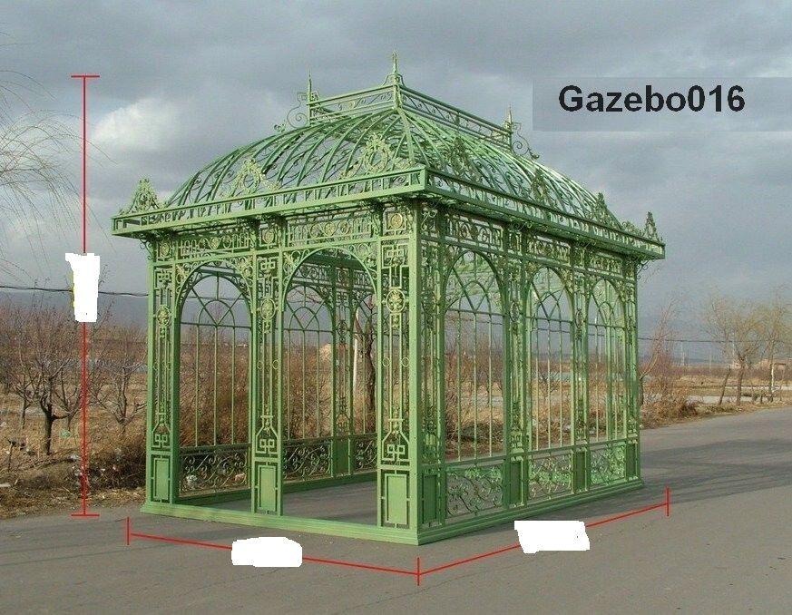 Cast / wrought iron gazebo, pavilion,pergola,greenhouse - Cast / Wrought Iron Gazebo, Pavilion,pergola,greenhouse Cast