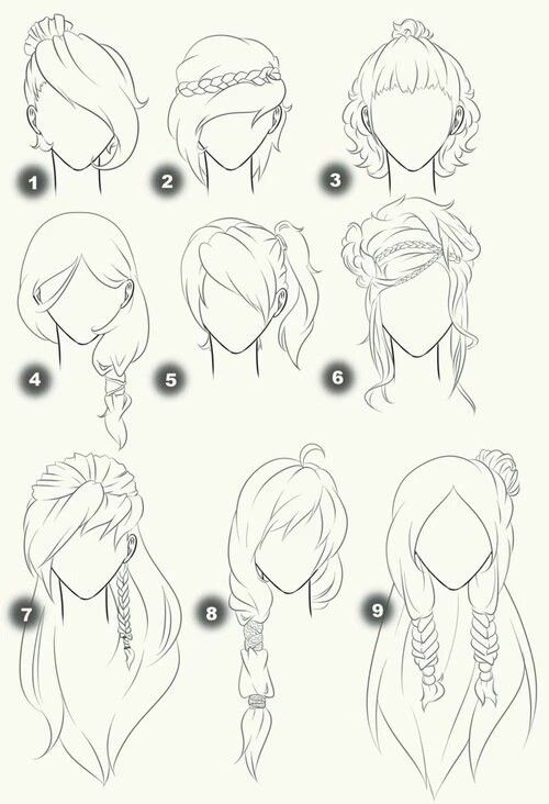 Imagefind Images And Videos About Hair Art And Text On We Heart It The App To Get Lost In What You Love Sketches Drawings How To Draw Hair