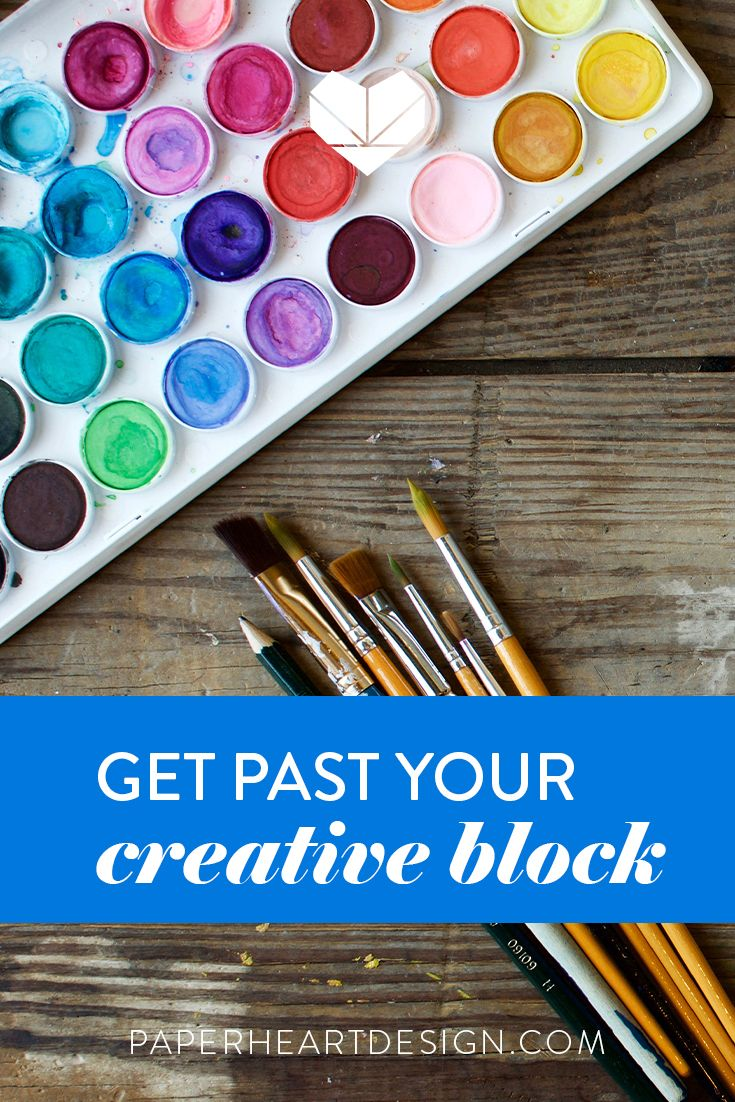 Break out of your creative rut with these tips, lists, and suggested books, podcasts, and interviews with creatives. #creativeliving