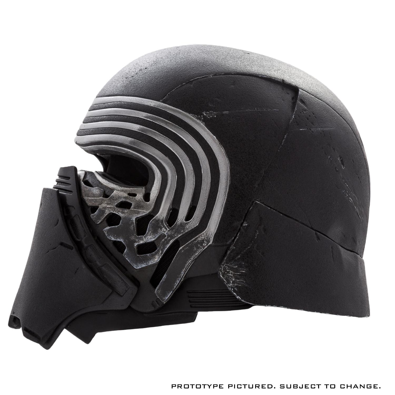 Star Wars The Force Awakens Kylo Ren Helmet Premier Line Accessory Kylo Ren Helmet Star Wars Helmet Star Wars Kylo Ren