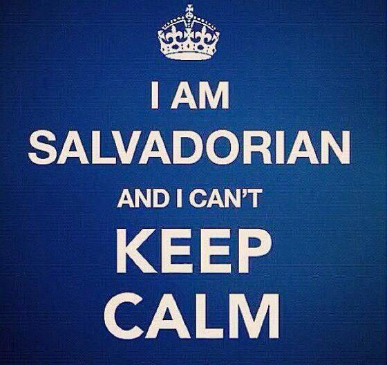 I Am Salvadorian And I Can T Keep Calm Salvadorean Calm Hebrew Words