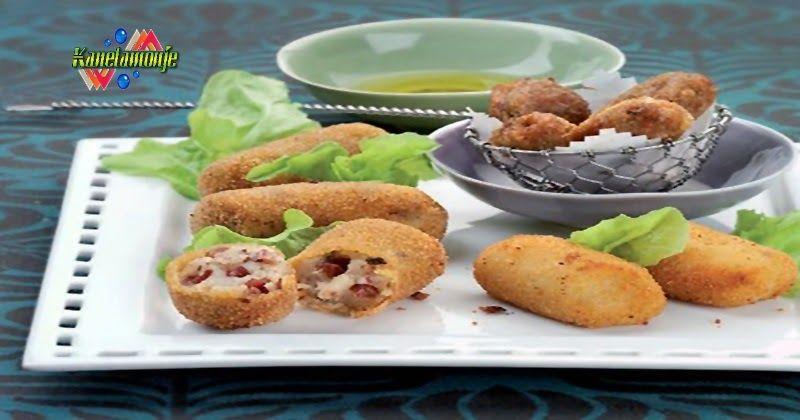 3 tipos de croquetas 2 saladas y 1 dulce Recetas de Cocina, Receta de Postre, Receta de Pescado, Receta  de Pollo, Receta de Carne, Receta Fáciles,Como cocinar Pollo, que cocinar, Cocinar.