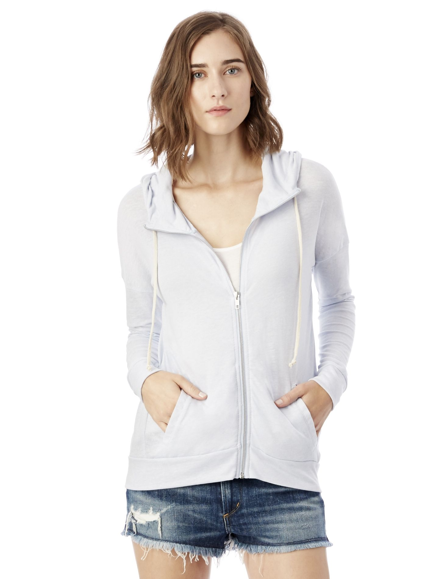 Cool Down Eco-Jersey Zip Hoodie.  Probably need a Medium