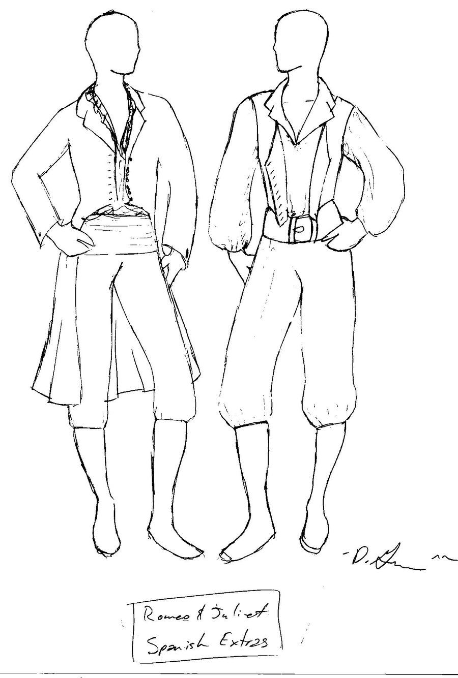 Romeo And Juliet Character Drawings Romeo I Dzhuletta Iskusstvo