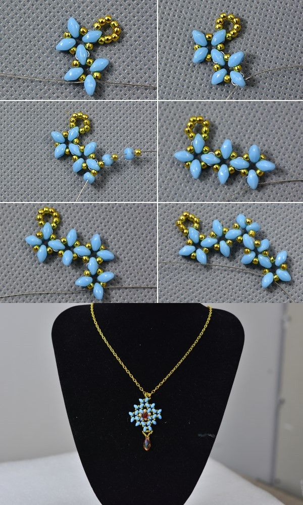 Like this beaded pendant necklace? LC.Pandahall.com will release ...
