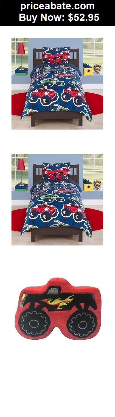 KidsBedding Boys Comforter Set Twin Full Size Monster