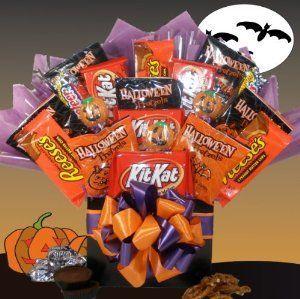 Spooky Treats!! Festive Halloween Gift Basket!! #spookybasketideas Spooky Treats!! Festive Halloween Gift Basket!! #spookybasket
