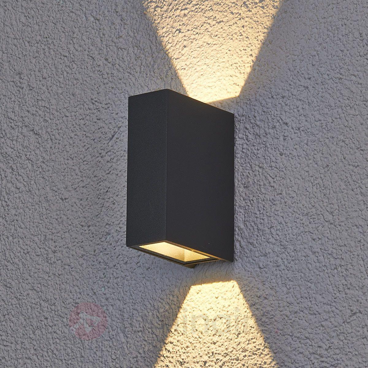 applique d'extérieur led maisie en aluminium | luminaires, luminaire