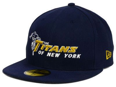 New York Jets Vintage Titans of New York On Field. Nfl OfficialsNew York  JetsFitted CapsNfl ... 1ac380f83