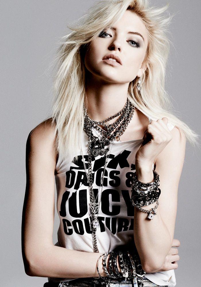 juicy style update2 Jourdan Dunn & Martha Hunt Model Latest Juicy Couture Style Update