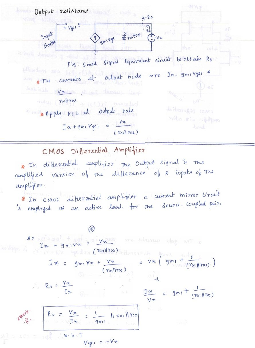 Electronic Circuits - I Lecture Notes for B E  (ECE) (High