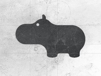 Hippo Logo Design Brand Mark Symbol Icon Pinterest