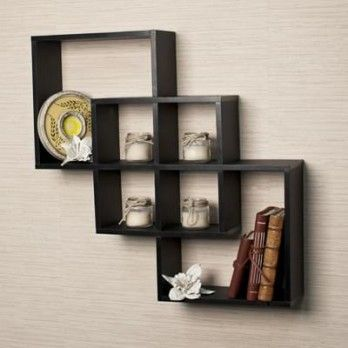 Buy Veneer Wall Shelves With Black Finish Online At Wooden Street Decorate Your Home By Our Great Collection Of Wall Shelf Decor Shelves Modern Wall Shelf