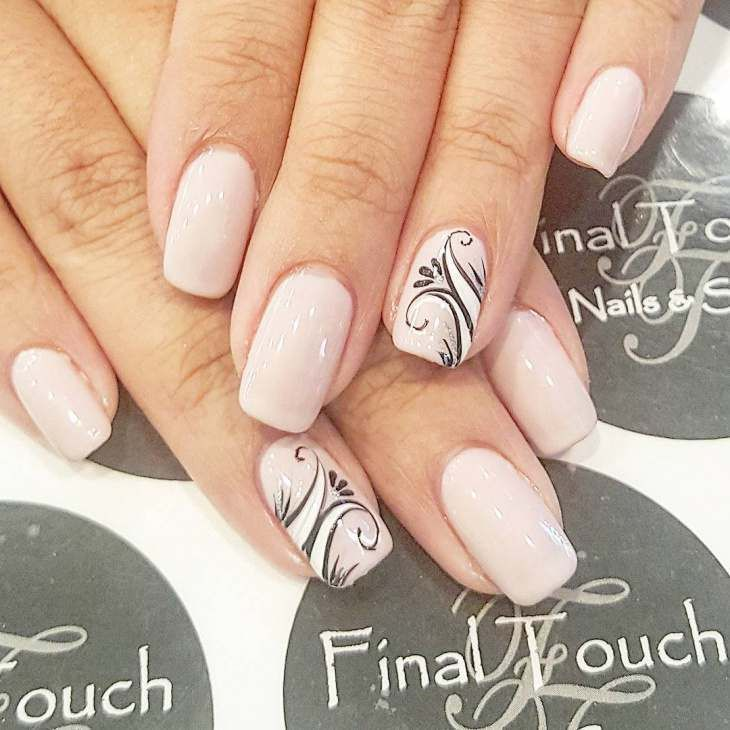 Nail Polish Designs Swirl Hession Hairdressing