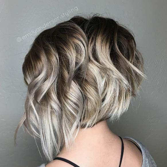 80 Fabulous Wavy Bob Hairstyles Hair Pinterest Hair Blonde