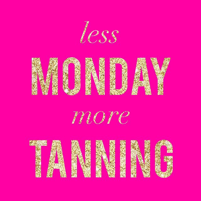 Happy Monday St Albert! Drop by for a Tan Today Tanning