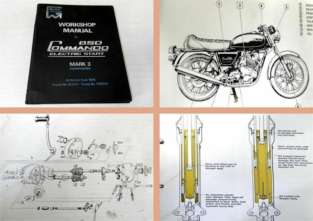 Norton 850 Commando Workshop Manual