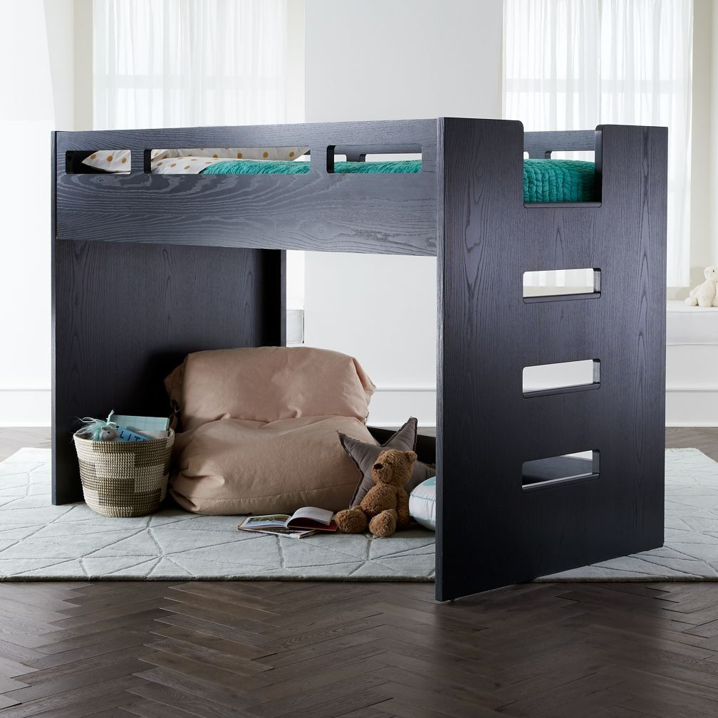 Shop Abridged Charcoal Glaze Low Twin Loft Bed.  We've created a Loft Bed with more space saving capabilities than ever before.  No, we didn't use magic.  We just scaled it down a bit.
