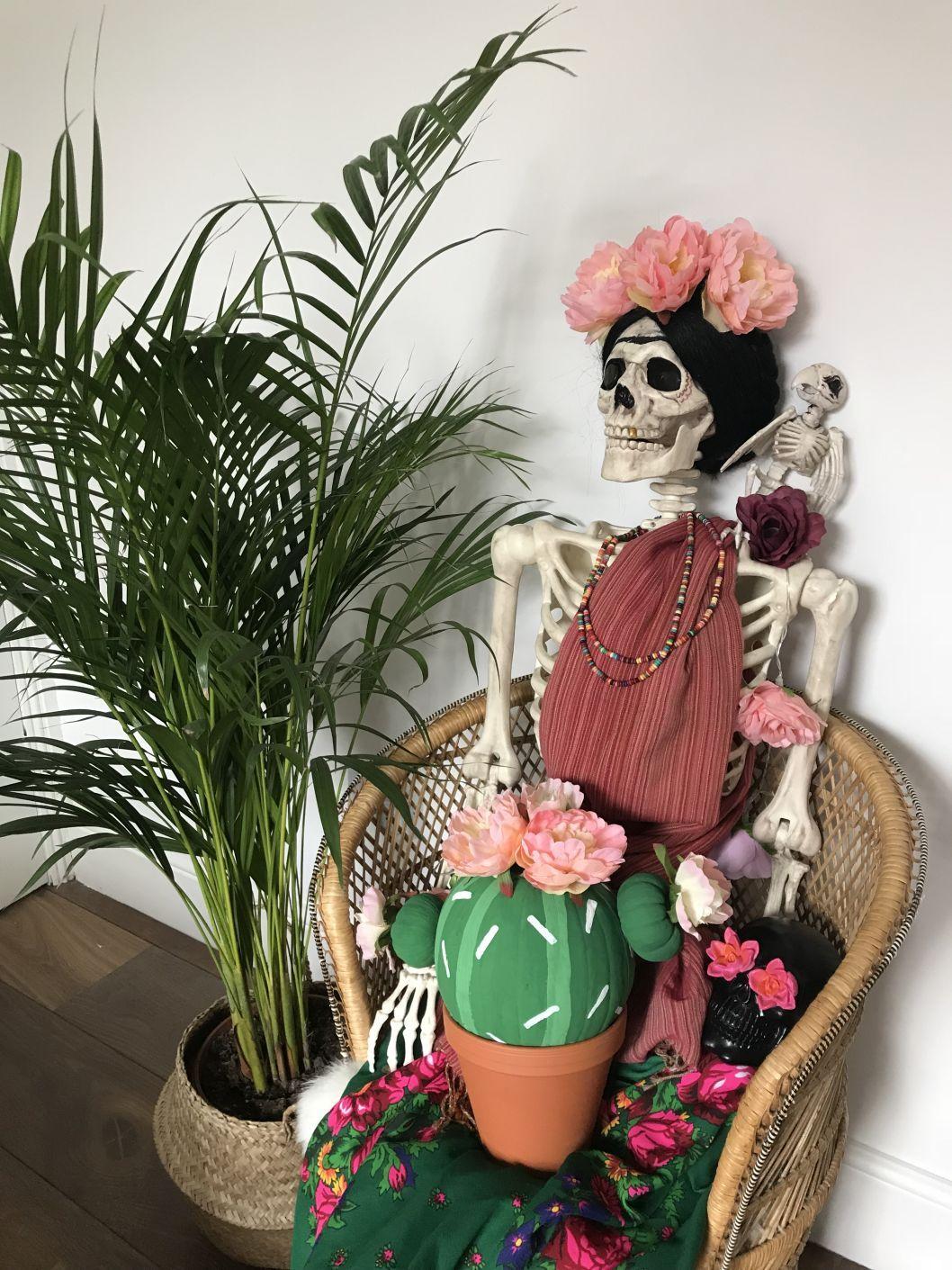 How To Make A Cactus Pumpkin Stylish Halloween Decor Diy