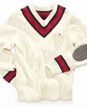 7566adf4 Tommy Hilfiger Kids Sweater, Boys Willy V-Neck Sweater - Kids Boys 8-Macy's