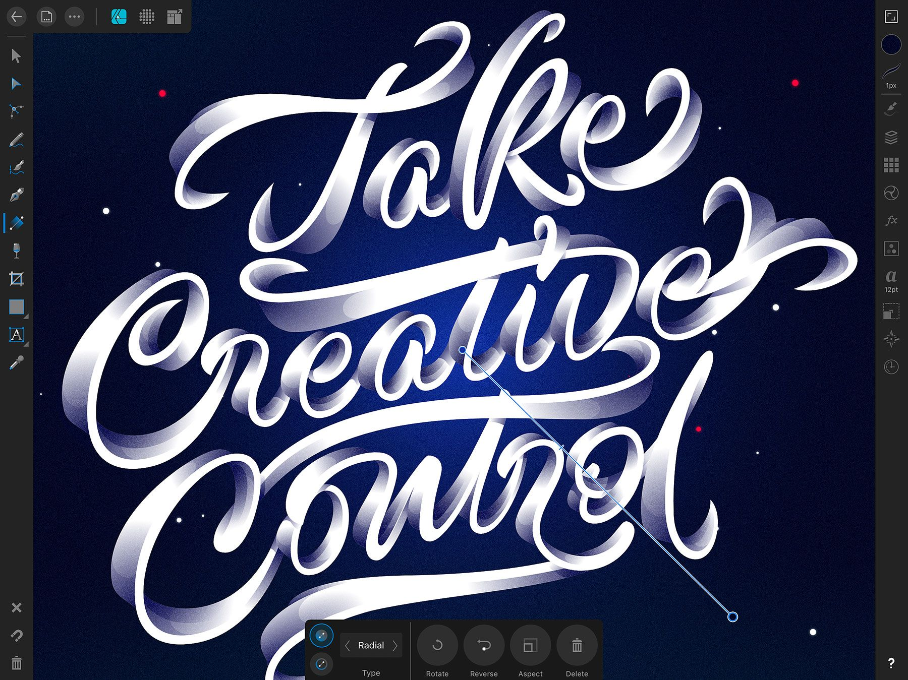 Download Watch Affinity Designer For Ipad In Action Lettering Design Typography Tutorial Lettering