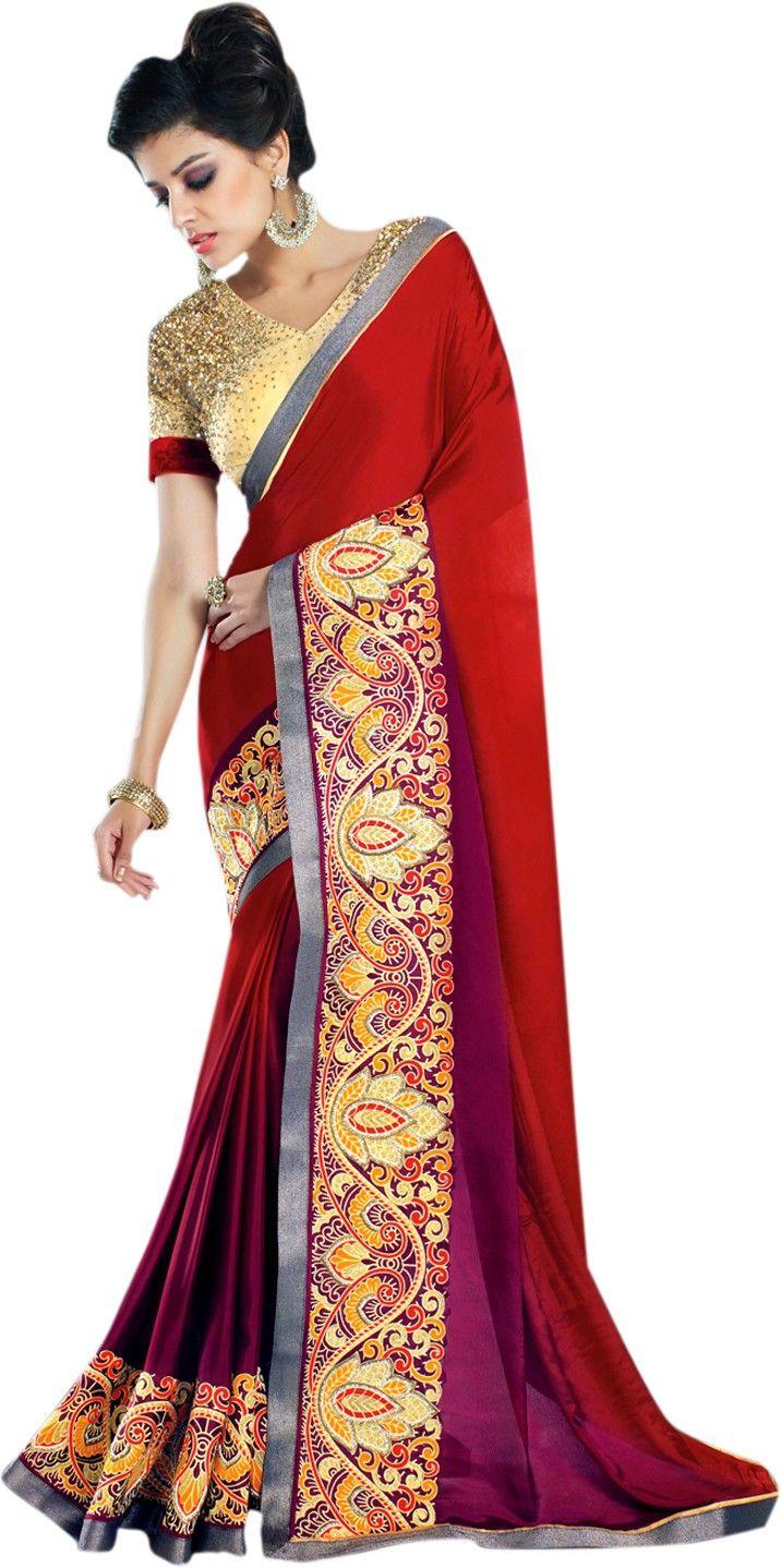 Club Art Decor Embellished Embriodered Fashion Handloom Silk Sari Buy Maroon Saree Club Art Decor Embellished Embrioder Fashion Indian Clothes Online Saree