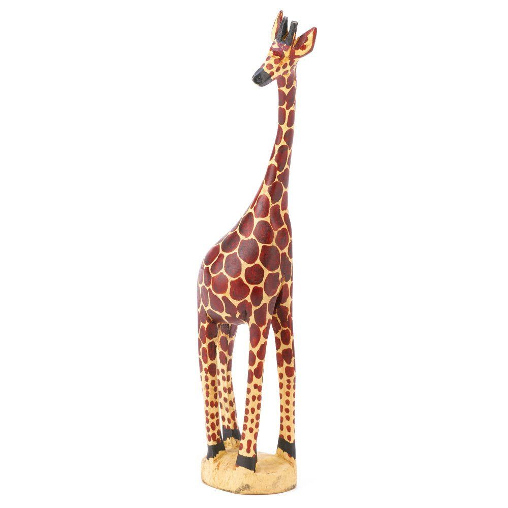 Kenyan South Africa Wooden Giraffe Figurine Home Decor Toys