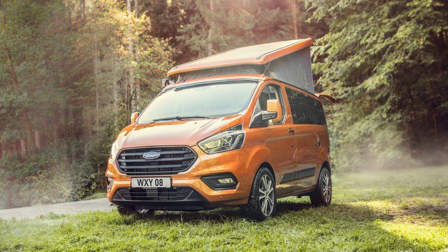 Ford Starts Selling Adventurous Little Transit Custom Nugget Camper Van Ford Transit Transit Custom Camper Van