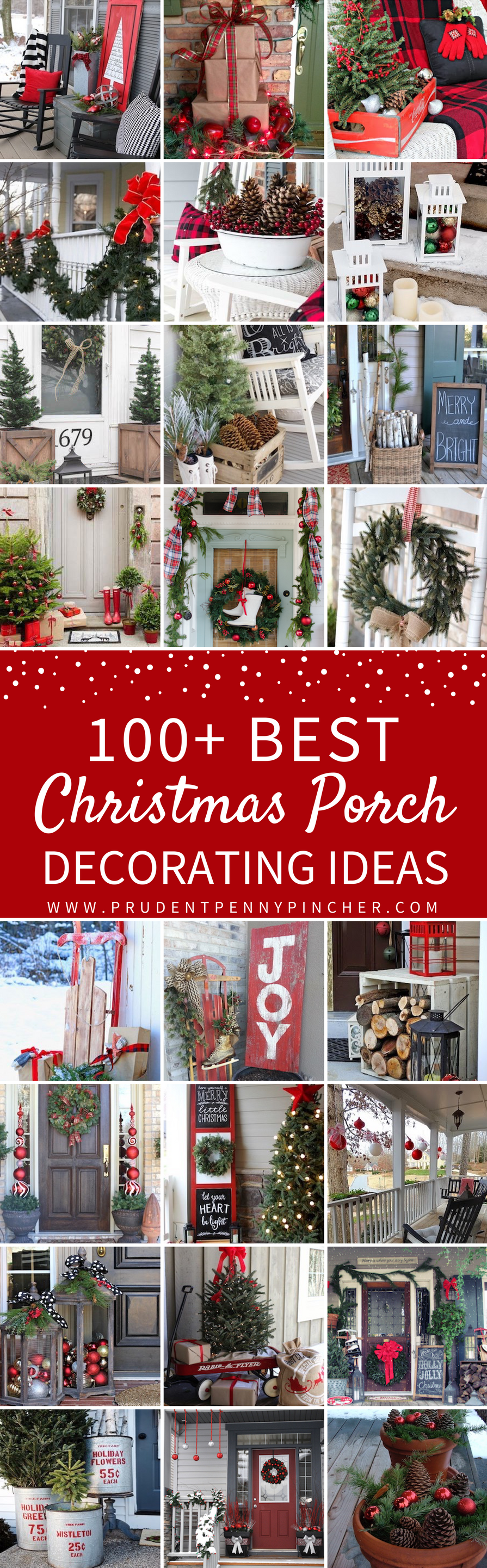 Outdoor porch christmas decorations   Best Porch Christmas Decorations  Merry Christmas  Pinterest