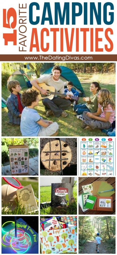 Ultimate Guide to Camping.  Recipes, Activities (to keep the little ones busy), gear, everything you need.