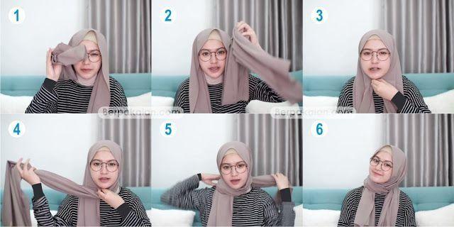 Tutorial Hijab Pagar Ayu Simple Blog Lif Co Id
