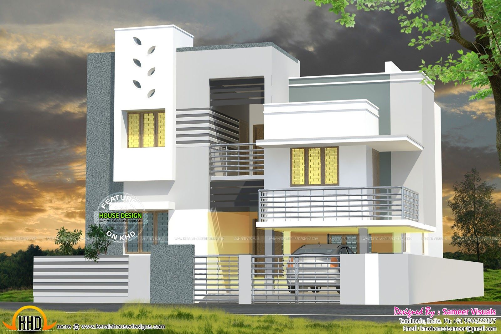 Modern House Design 3000 Sq Ft Small House Elevation Design Modern House Floor Plans Bungalow House Design