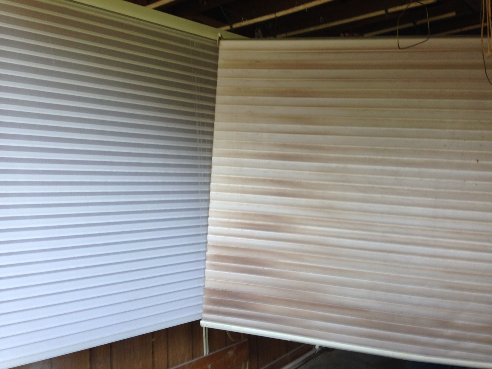 Ultrasonic Window Blind Cleaning Before And After Photos Of