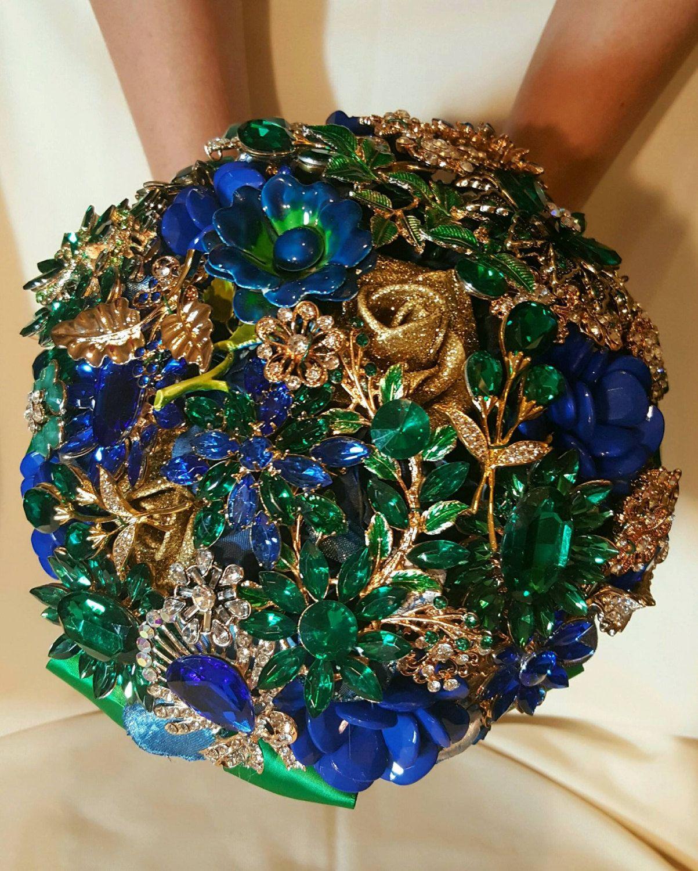 7d9773c111ea9 FULL PRICE on CUSTOM Made Bridal Brooch Bouquet Wedding Broach ...