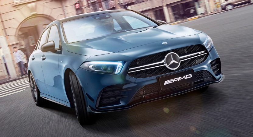 This Is The Production Version Of The New Mercedes Amg A35 L