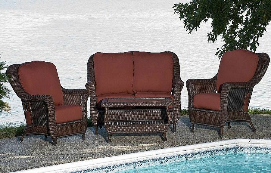 Modern Wicker Patio Furniture Sets Clearance http