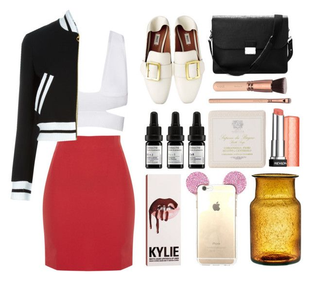 """""""3.810"""" by katrina-yeow ❤ liked on Polyvore featuring Odacité, Moschino, Aspinal of London, Antica Farmacista and Revlon"""
