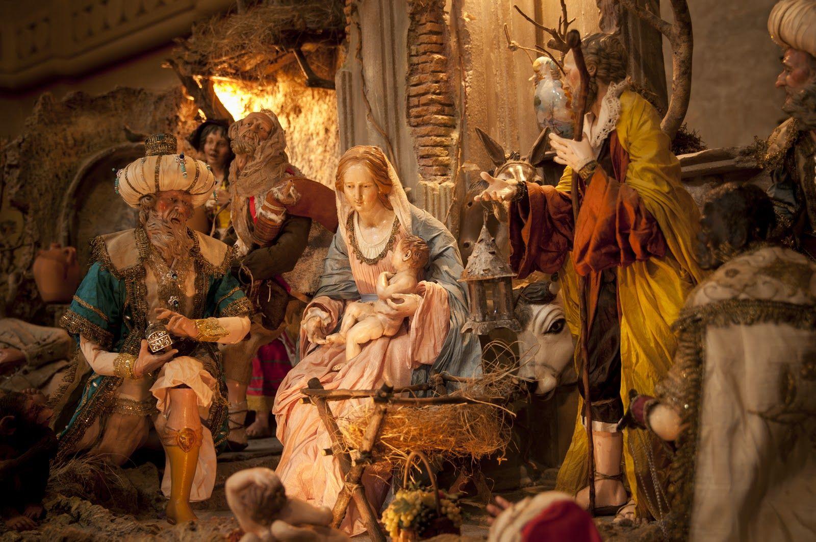 Christmas nativity scene nativity scene in st peter