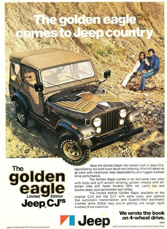 Jeep Golden Eagle Jeep Cj Jeep Golden Eagle Jeep