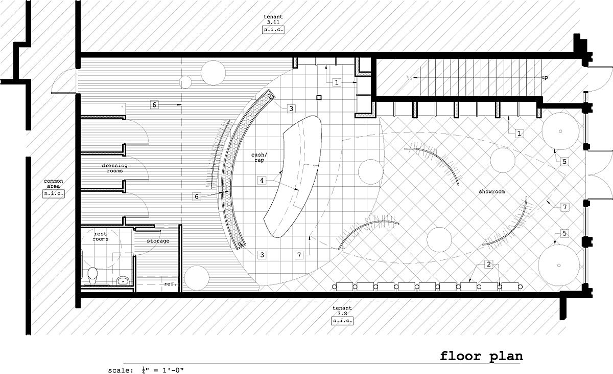 Retail store layout floor plan layout ideas pinterest for Retail building plans