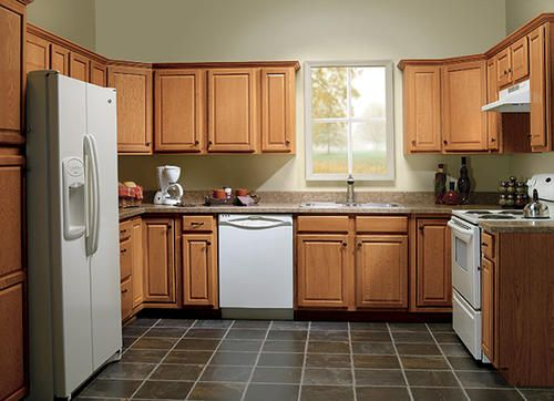 Huron Oak 96  Kitchen Help  Pinterest  Kitchens And House Cool Kitchen Cabinets Menards Inspiration